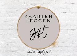 Cadeaubon Kaarten Leggen €40